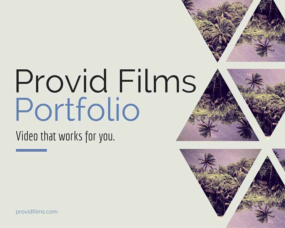 Corporate video production company Provid Films background image - video that works for you